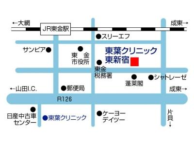 東葉クリニック東新宿MAP-1